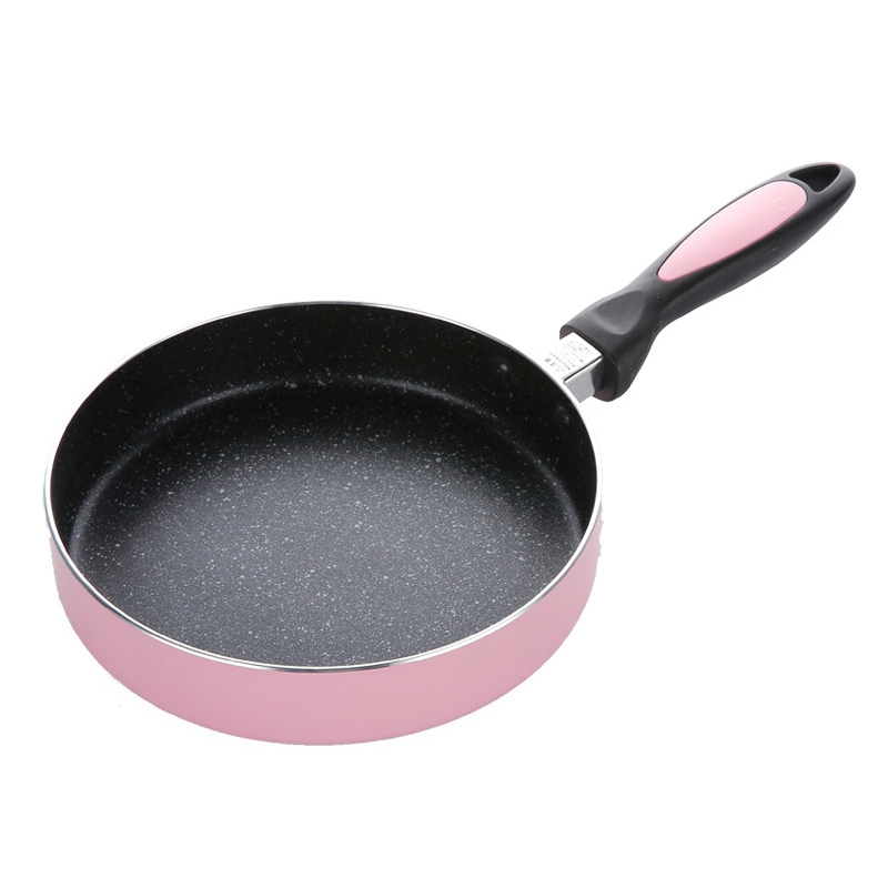 Aluminium Alloy Non Stick Frying Pan For Pancake Steak Egg Omelet DIY Nougat Candy Jam Skillet Coating Cooking Pot