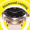 Relógio inteligente feminino adorável pulseira sono freqüência cardíaca monitor de pressão arterial smartwatch senhoras presente relógios masculino para android ios 2