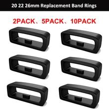 2-10 шт., резиновые запасные ремешки для часов Garmin Fenix 6S 6X 6 Pro 5X 5S 5 Plus 3 HR