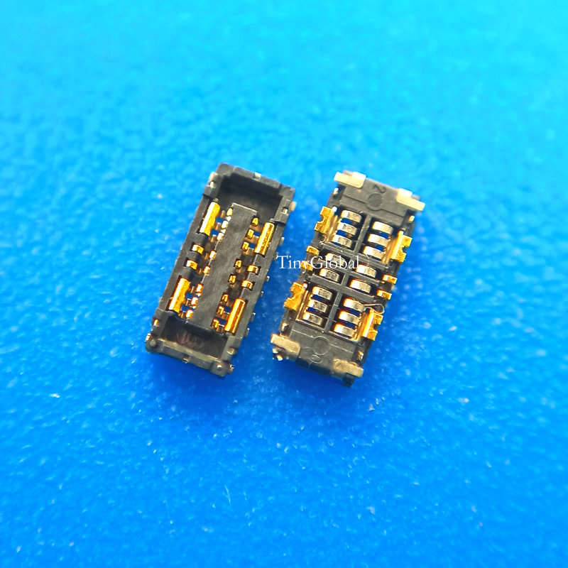 2pcs/lot Coopart Inner FPC Connector Battery Holder Clip Contact For ASUS Zenfone 3 Zoom ZE553KL Zenfone 4 MAX ZC554KL