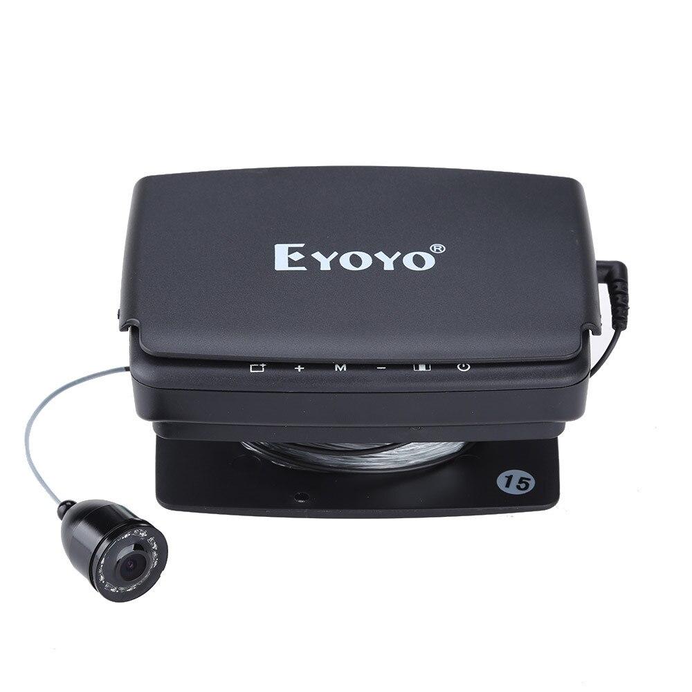 Eyoyo 15 м 30 м рыболокатор подводный 1000TVL лед рыбалка видео запись камера DVR 8 инфракрасный светодиодный
