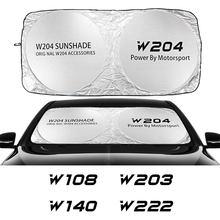 Auto Windschutzscheibe Sonnenschutz Abdeckung Für Mercedes W203 W204 W205 W211 W212 W213 W124 W176 W108 W126 W140 Zubehör Anti UV Reflektor