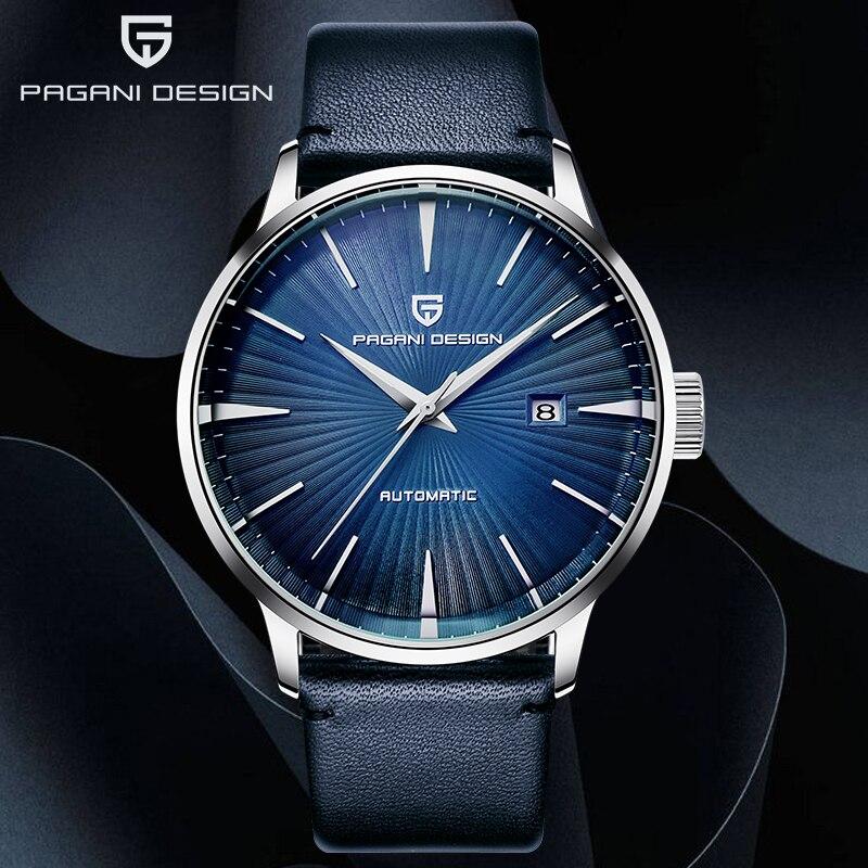 Relógio de Couro Homem de Luxo Negócios à Prova Pagani Novos Relógios Masculinos Clássico Mecânico Automáticos Dwaterproof Água Homem 2020