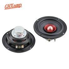 Ghxamp 4 Polegada unidade de alto-falante de gama completa bluetooth alto-falante diy 4ohm 25 w tweeter mid-bass alta fidelidade do cinema em casa alto-falante de áudio 2 pc