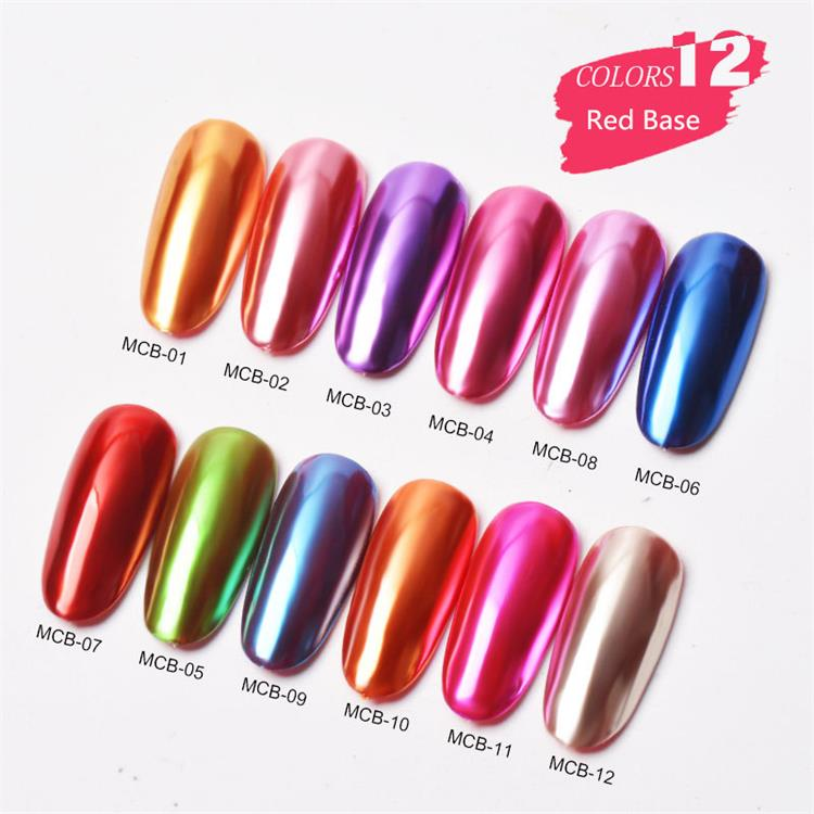 Mirror Chrome Nail Powder