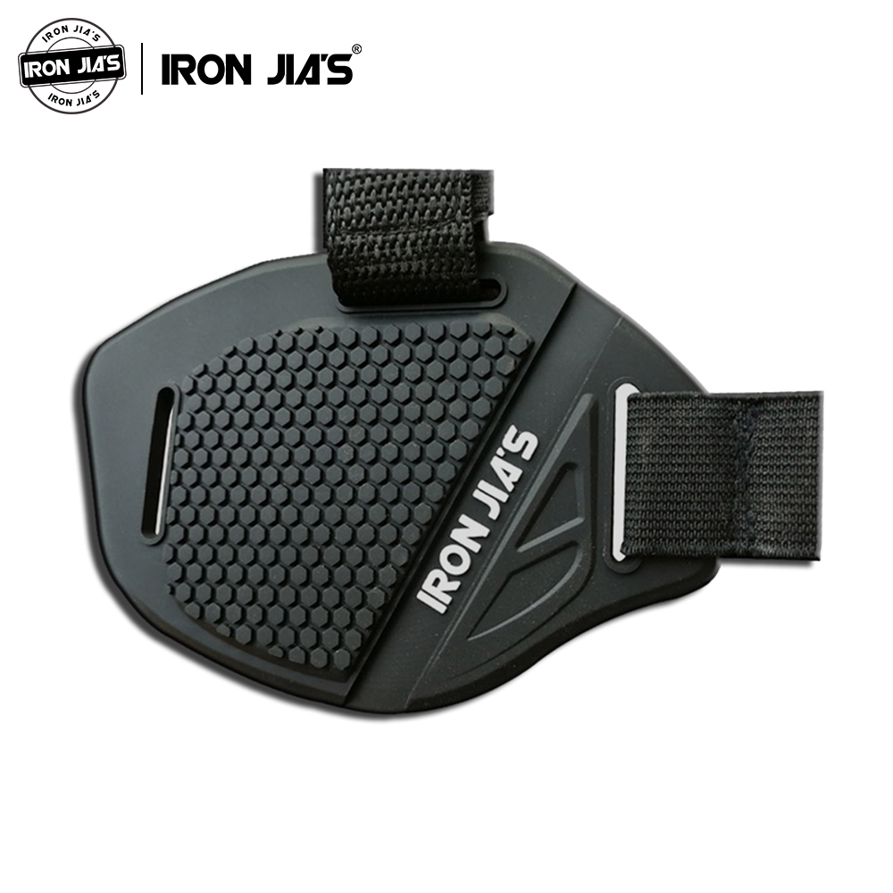 IRON JIA'S Motorcycle Boots Protector Cover Black Motorbike Moto Gear Shifter Men Shoe Moto Boot Cover Shifter Guard