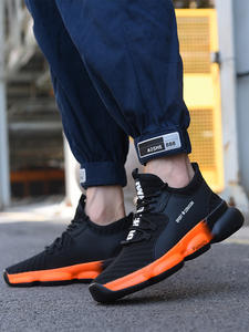 Boots Sneakers Safety-Shoes Work Construction Puncture-Proof Steel Fashion Outdoor New