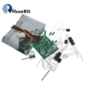 Electronic Funny Kit Voice Control Melody lamp LED Melody Light DIY Production Suite Learning Electronic Kits PCB laboratory