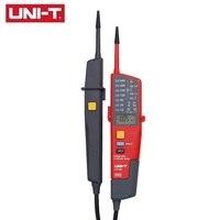 UNI T UT18C UT18D wodoodporny cyfrowy miernik napięcia Auto zakres woltomierz/napięciomierz pióro z wyświetlaczem LED wyświetlacz LCD w Mierniki napięcia od Narzędzia na