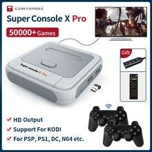 Супер консоль x pro s905x hd wifi выход мини ТВ Видео игровой