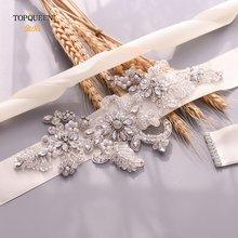 Женские свадебные пояса topqueen s139 вечерние ремни с кристаллами