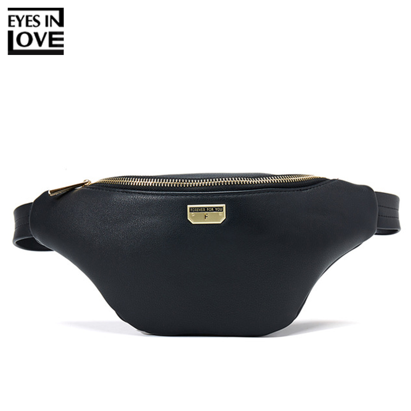 New Soft Leather Women Fanny Pack Multi-function Waist & Chest Bag Ladies Belt Hip Shoulder Bag Bum Pouch Sac Female Waist Pack