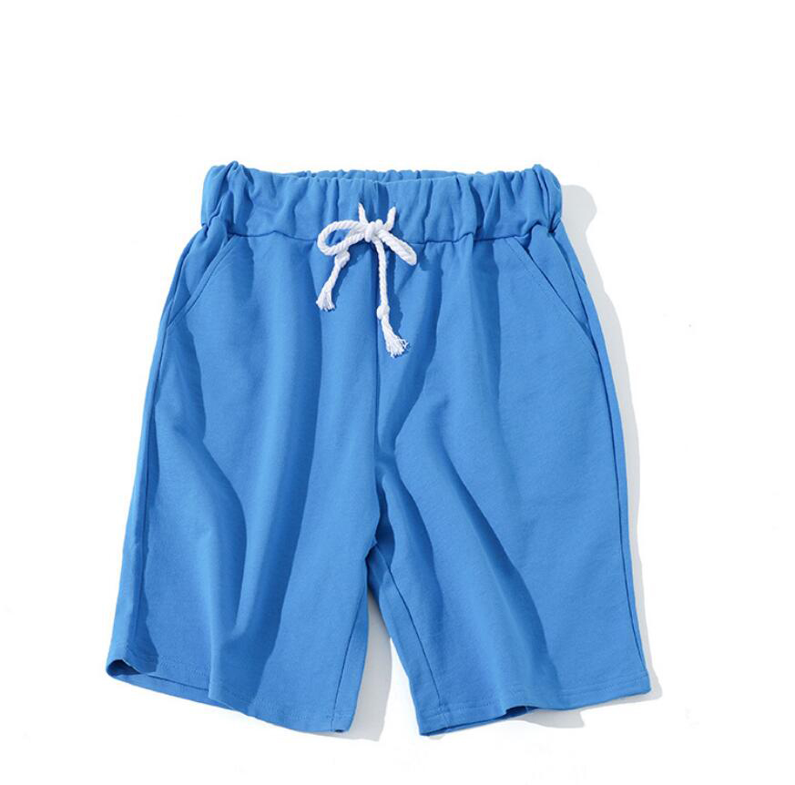 ZNG Summer Shorts Men Breathable Embroidery 100% Cotton Retro Beach Short Male Free Shipping