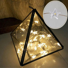 10 LED Star Light Cozy String Fairy Lights For Bedroom Wedding Party Decor Living Room Outdoor Decor Christmas Lamp NEW 19NOV21(China)