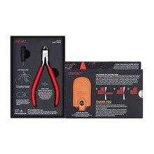 Dspiae 2021 novo ST-A único lâmina nipper 3.0 ferramentas manuais alicate multifuncional dobrado não-escala longo nariz para peças elétricas