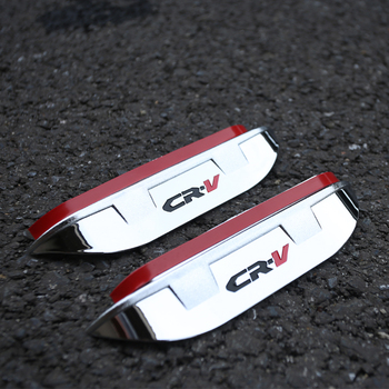 Mój dobry samochód z tyłu samochodu lusterko boczne wsteczne rama wykończeniowa osłona przeciwdeszczowa przyciemniana osłona przeciwsłoneczna brwi 2 sztuk dla Honda CRV CR-V 2012-2019 tanie i dobre opinie NoEnName_Null