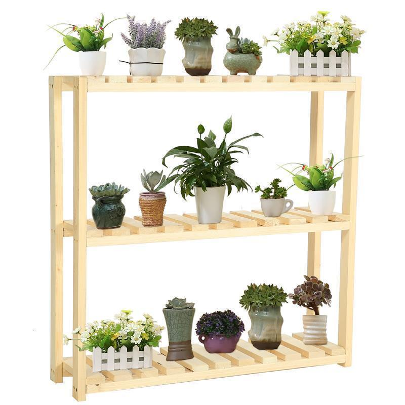 Macetas Plantenrekken Garden Shelves For Pot Estante Para Plantas Stojak Na Kwiaty Outdoor Stand Rack Balcony Flower Plant Shelf