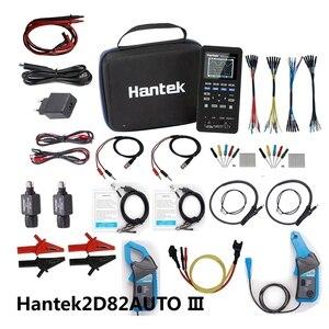 Image 5 - Hantek osciloscópio digital 4 em 1 2D82, de 2 canais, com multímetro + diagnóstico automotivo + gerador de forma de onda