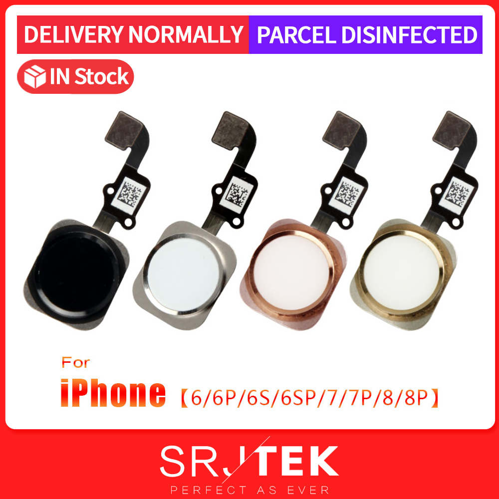 For IPhone 6s Home Button Flex Cable For IPhone 7Plus Home Button 6 7 8P 7P 6S 8 Plus 6SP Return Button Flex Cable Replacement