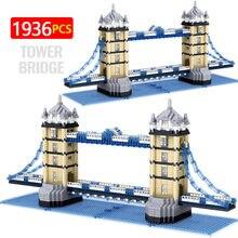 Nova cidade diamante mini oriental pérola torre arquitetura torre o criador twin pontes blocos de construção tijolos brinquedo para crianças