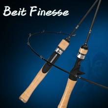 TSURINOYA Fishing Rod DRAGON BAIT FINESSE TROUT Casting Spinning Lure Rods 1.52/1.82m 2 Section Carbon Fibe UL Ultralight rod