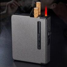 New Portable metal cigarette case 12pcs Cigarettes