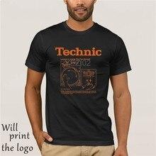 Technic Lezioni di Miscelazione Camicia-Grandi Doni per Mixer Dj Hip Hop abbigliamento In Cotone Manica Corta T-Shirt