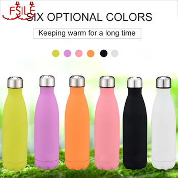 500ml Thermos Water Bottle Double Wall Vacuum Thermos Cup Thermal Bottle Stainless Steel Insulated Bottle Travel Hydro Flask 500ml fashion bullet vacuum flask stainless steel thermos portable vacuum insulated water bottle sport thermal thermos flask