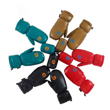 Bicycle Bike Glove Full Finger Cycling Aegismax Gloves Windproof Goose Down Outdoor Camping Hiking Children Kids / Adults Glove(China)