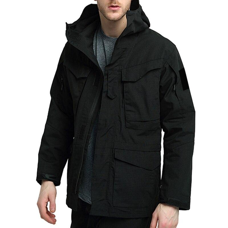 HEFLASHOR Men's Warm Ski Jacket Hooded Mountain Waterproof Winter Coat Windproof Raincoat Outdoors Parka Pocket   Trench   Jackets