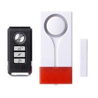 Wireless Alarm Voics Alarm Elektronische Selbstschutz Wächter Safty Tür Alarm Notfall Anti diebstahl Alarm System Kits    -