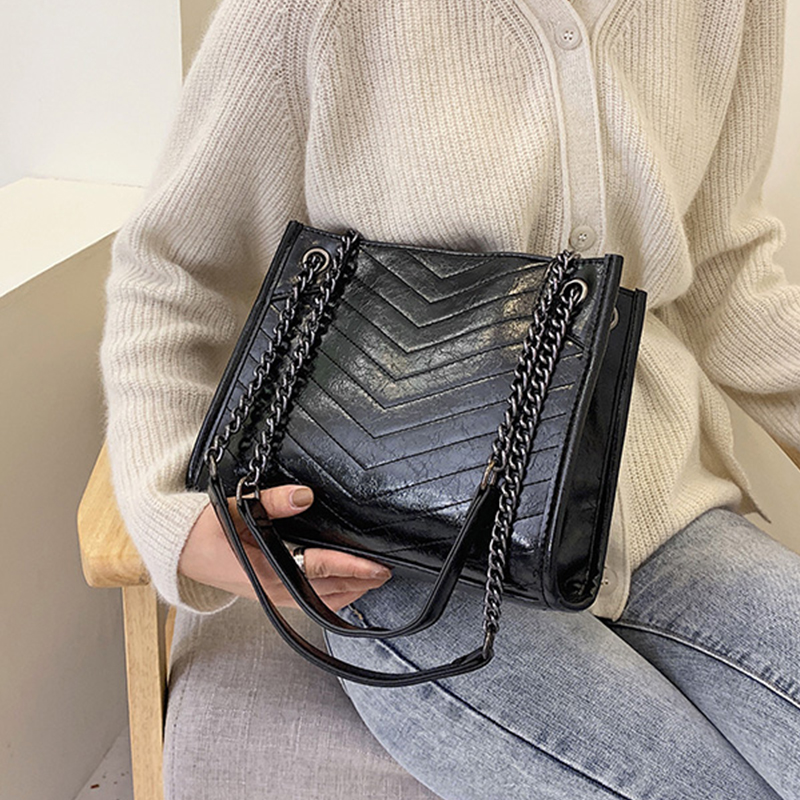 Hiver grand Sac à bandoulière femmes sacs de voyage en cuir Pu Quailty Sac Femme sacs à Main de luxe femmes sacs Sac de créateur un Sac à Main Femme
