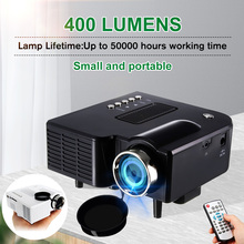 UNIC UC28+ Portable LED Projector Cinema Theater Mini Projector