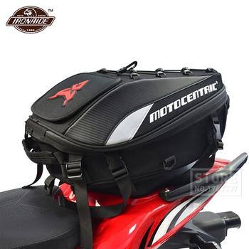 Torba na motocykl wodoodporny Mochila Moto zbiornik do motocykla torba plecak motocyklowy wielofunkcyjna torba na bagażnik 4 kolor tanie i dobre opinie MOTOCENTRIC CN (pochodzenie) 29cm Oxford cloth and carbon fiber pattern Torby na siodełko 1 3kg Motorcycle Storage 30cm