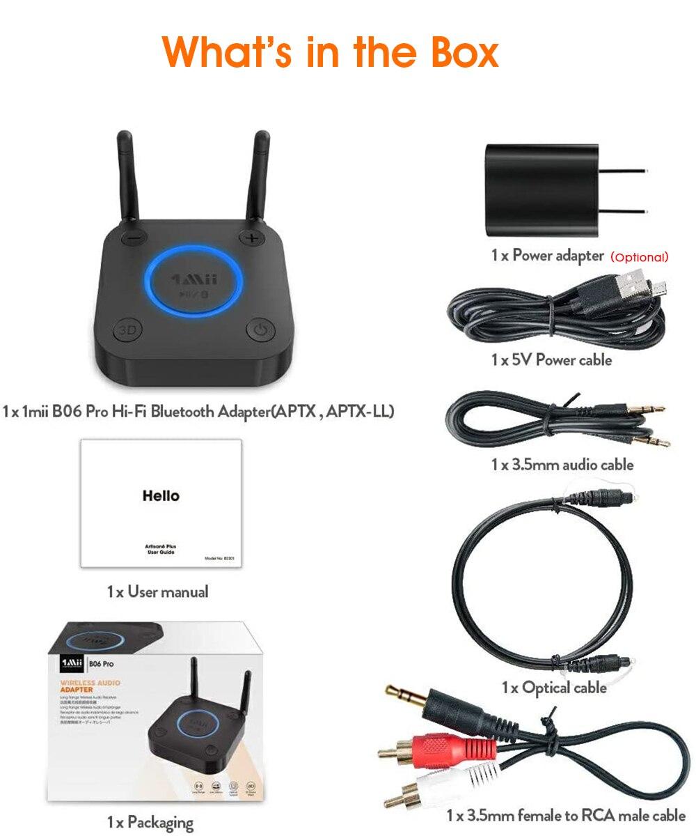 áudio aptx ll música 3d coaxial óptico
