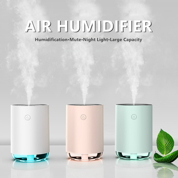 Humidificador de aire para el hogar, 255ML, 400mA, portátil, inalámbrico, USB, vaporizador...