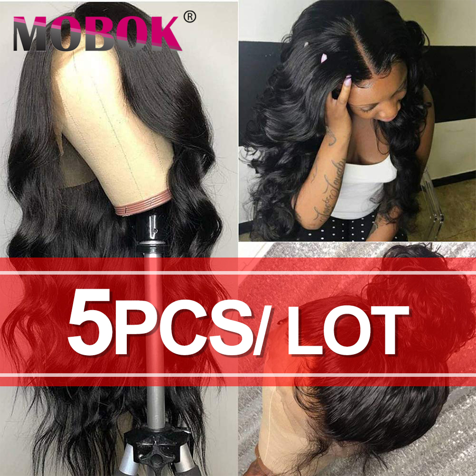 Wholesale Lace Front Human Hair Wigs Lace Frontal Wig Body Wave 13x4 Lace Front Wig Brazilian Remy Human Hair Wigs For Wome