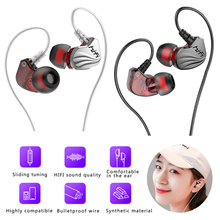 Handfree Stereo Bass Earphone Wired Earbuds headset In Ear Earbus Earpiece 3.5mm