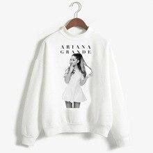 Kaguster New 2019 Ariana Grande Sweet Print Round-neck Hoodie Women Long Sleeves Casual  Cute Aesthetic Summer
