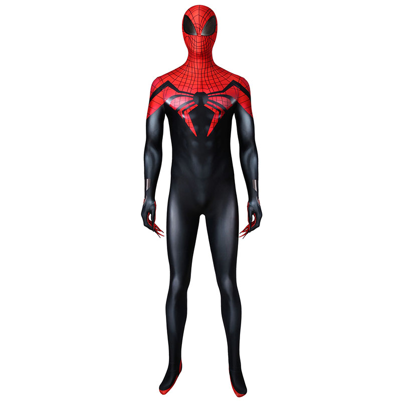 Marvel Comics Superior Spider-Man Costume Spiderman Peter Parker Cosplay Jumpsuit Mask Halloween Superhero Zentai Outfit Suit