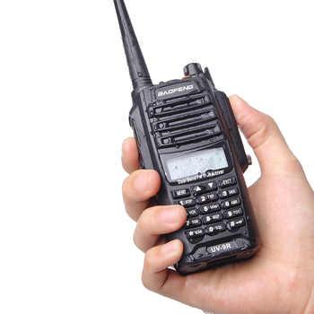 2020 UV-9R Baofeng Walkie talkie IP67 Waterproof & Dustproof ham radio Vhf Uhf Dual Band For UTV ATV Hunting two way radio