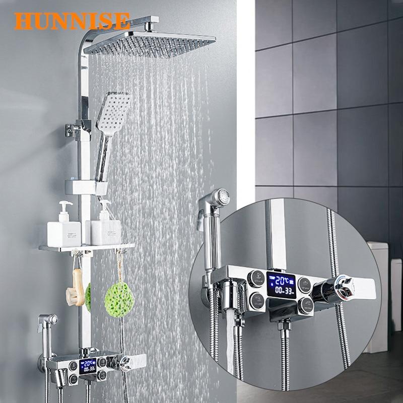 Bathroom Shower Set with Polished ...