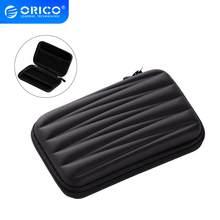 ORICO-Bolsa de disco duro de 2,5 pulgadas con cremallera, Mini Powerbank EVA, estuche de transporte, organizador electrónico para Samsung