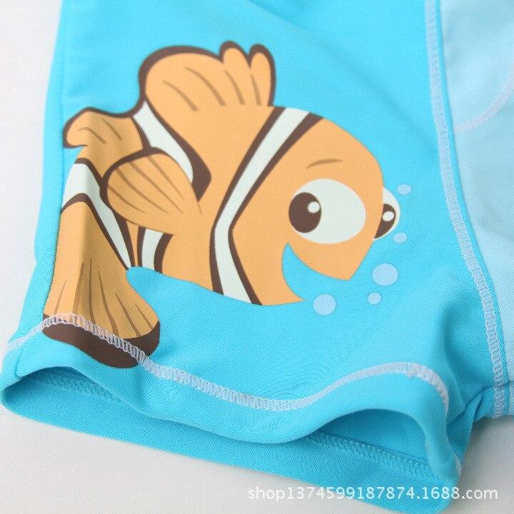KID'S Swimwear BOY'S Swimming Trunks CHILDREN'S Baby AussieBum Cartoon Lower Waist Level Swimming Trunks Beach Swimming Trunks C