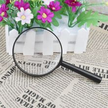 90 мм Ручной Лупа 5X чтение карта газета увеличительное стекло Ювелирные изделия Лупа