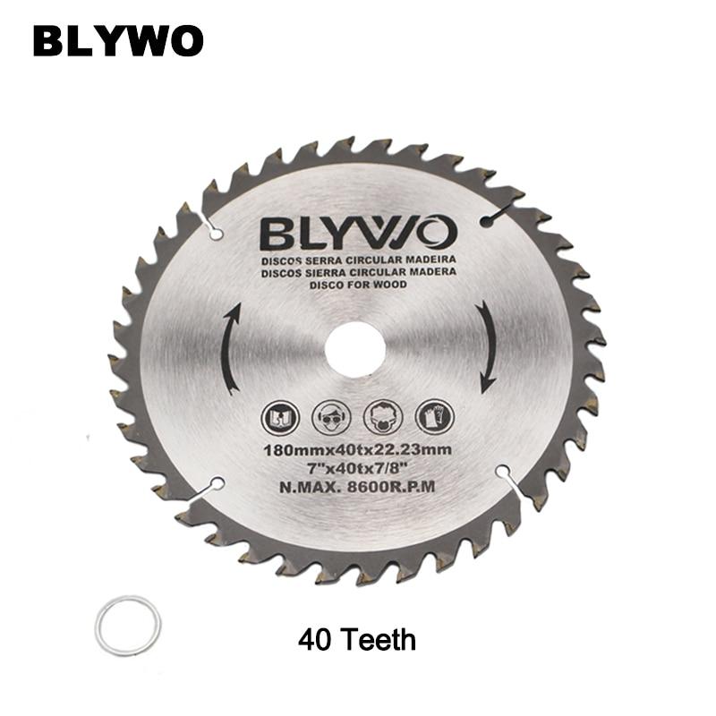 7 Inch 40 Teeth TCT Circular Saw Blade For General Purpose Hard & Soft Wood 22.23mm Inner Hole