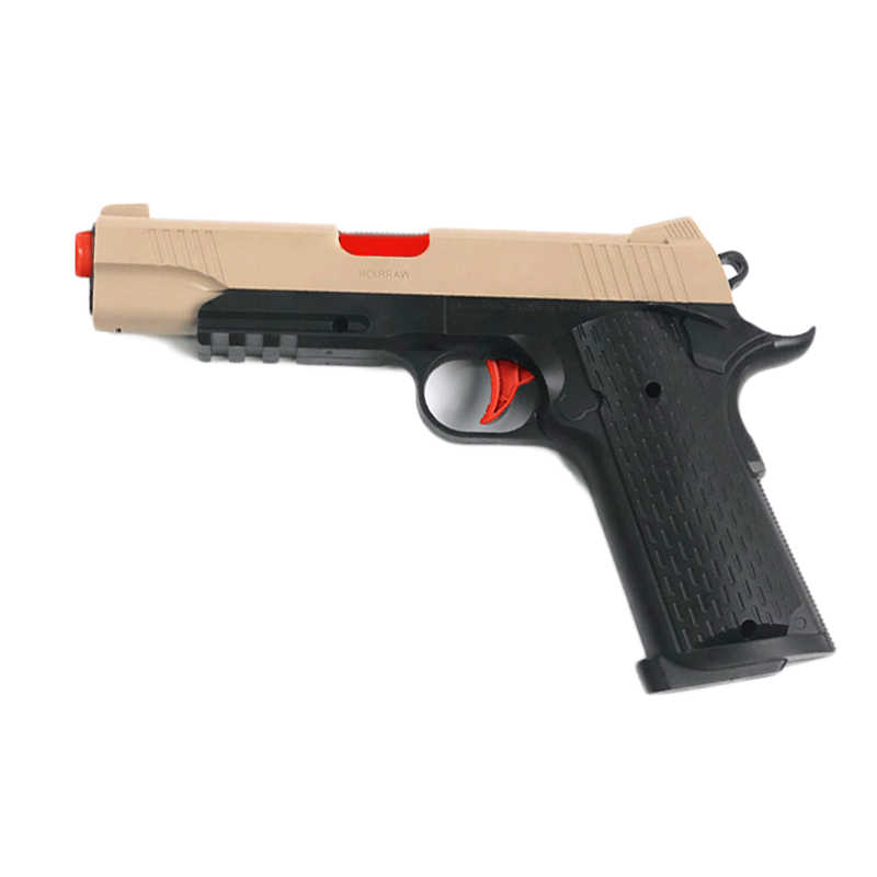 Plastik M416 Mainan Pistol Air Listrik Paintball Peluru
