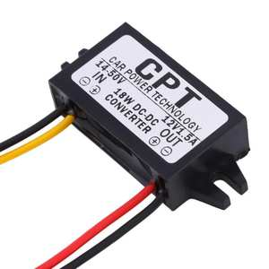 Car-Module Converter Charging-Dc-Converter-Regulator 12V 7-50V Male CPT High-Quality