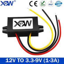 DC DC Waterproof Converter 12V to 3.3V 3.7V 4.2V 6V 7.5V 9V 1A 2A 3A Step Down Buck Converter With CE RoHS 12V Transfomer
