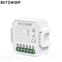 Hogar Inteligente BlitzWolf BW-SS5, módulo de interruptor inteligente 10A 2300W con WIFI bidireccional, controlador de aplicación remota, temporizador de Control de grupo, enchufe inteligente